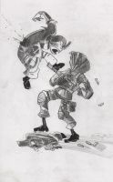 Stalker work in progress by Strelok1917