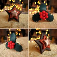 Polymer Clay- In Christmas mood by juditithil