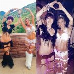 Global Dance Festival: Black and White swan w/mom by roxypotter13
