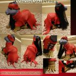 Vincent Valentine Custom Pony by AnimeAmy