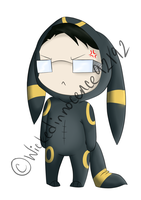 William T Spears Umbreon Chibi by Illogicat