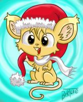 Merry Christmas and happy new Mouse by Bertopo
