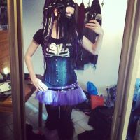 newest cybergoth picture~~ by bioacidzombie