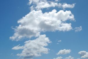 White Clouds, Blue Sky by MogieG123