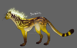 Seriod Cheetah Adopt 1 Closed by Kivana-Ary