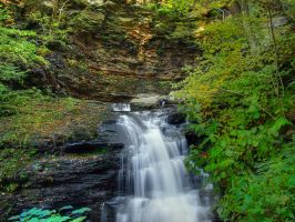 Ricketts Glen State Park 22 by Dracoart-Stock