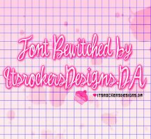 Font Bewitched by itsrockersdesigns