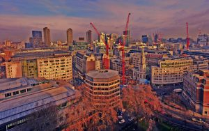 "London Cranes ""HDR"" by smaisch"