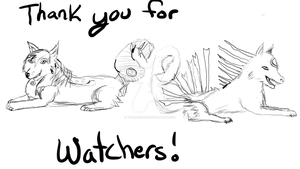 Thank You For 60 Watchers! by toonanimals317
