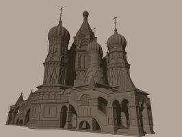 St. Basil's Cathedral by Poopgoblyn
