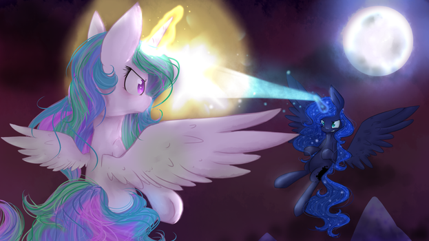 [SPEEDPAINT INCLUDED!] Battle by PuffedCereal