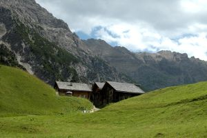 Sheds in the Austrian Alps by BlokkStox