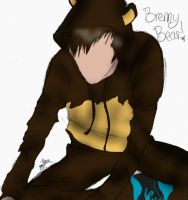 Brenny Bear - Coloured lol by sax-playin-squid
