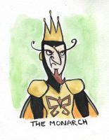 Villain Month - 17 The Monarch by TRAVALE