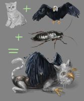 3 animal hybrid by Ranivius