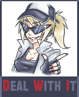 DEAL WITH IT by Emii-Chanii