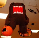 Domo-kun Halloween 003. by GermanCityGirl