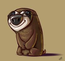 Jerome the Sloth by Aktheneroth