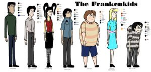 Frankenkids Height Chart by Tiramia