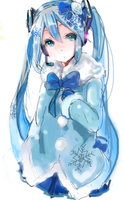 Snow Miku by jpartmaster32