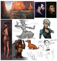 sketchdump 04 by leahmsmith