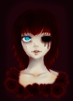 My little red rose... by Mr-Creepy