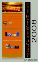 FREE Halloween Journal 2008 by DigitalPhenom