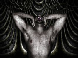 Giger style stage 1 by ajb3art