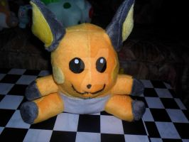 026 Raichu plush by xmorris33