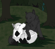 Forest Lovers by boxes-of-foxxes
