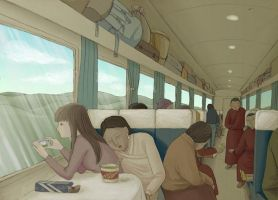 le train qui dure 53 heure by pigerbaba