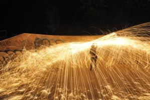 Fun With Steel Wool 1.0 by CzarcasticRemarx