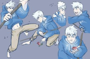 Sketchy sketchy - Jack Frost by NightLiight
