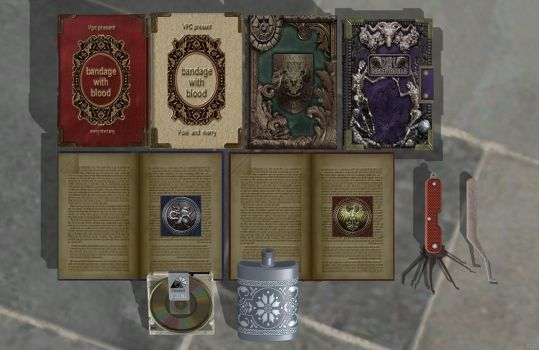 'Biohazard HD Remaster' Re-make Item Pack 1 XPS!!! by lezisell