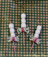Mini Marshmallow Ornaments by MorganCrone