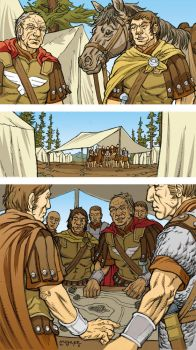 Caesar and the Battle of Alesia Page 03 Colors by JerMohler