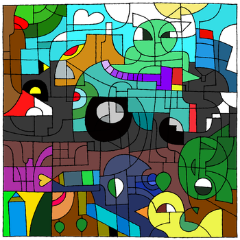 16th Birthday Coloring Challenge by Sliter
