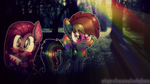 . : Creepy but cute ( Wallpaper ) : . by StarChaseSketches