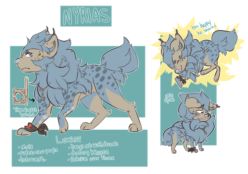 .:CO:. Nyrias Ref by Tuxiie