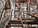 rusty stairs by Troubllemaker