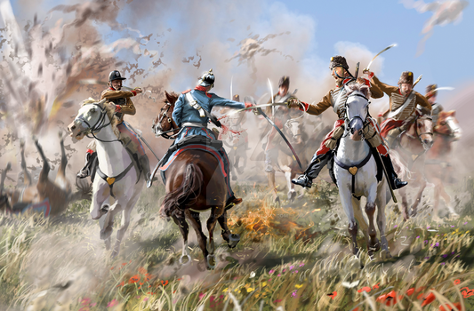 Battle of Mars La Tour (august 16 1870) by ManuLaCanette