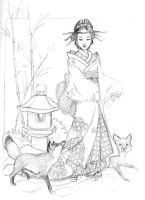Kitsune by dlin