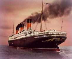 Beautiful Berengaria ~ Colorized by RMS-OLYMPIC
