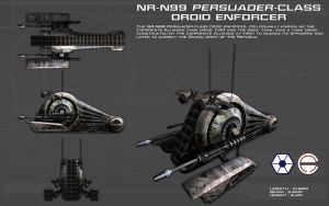 NR-N99 Persuader Class Enforcer Droid ortho [new] by unusualsuspex