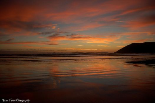 wilsons prom sunset 2 by rollingphotographer