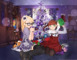 Christmas Party :Days of Paisley: by Girutea