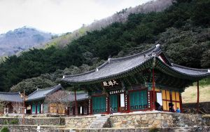 Korean Temple by cgh30217