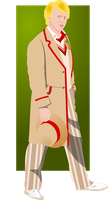 The Fifth Doctor by jonizaak
