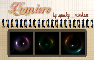 Lumiere Light textures by spookyzangel