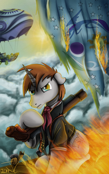 Fanart - MLP. Booker DeHex by jamescorck